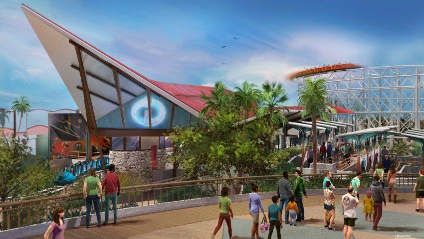 Nueva Montaña rusa en Pixar Pier - Incredicoaster - disneylandiaaldia.com