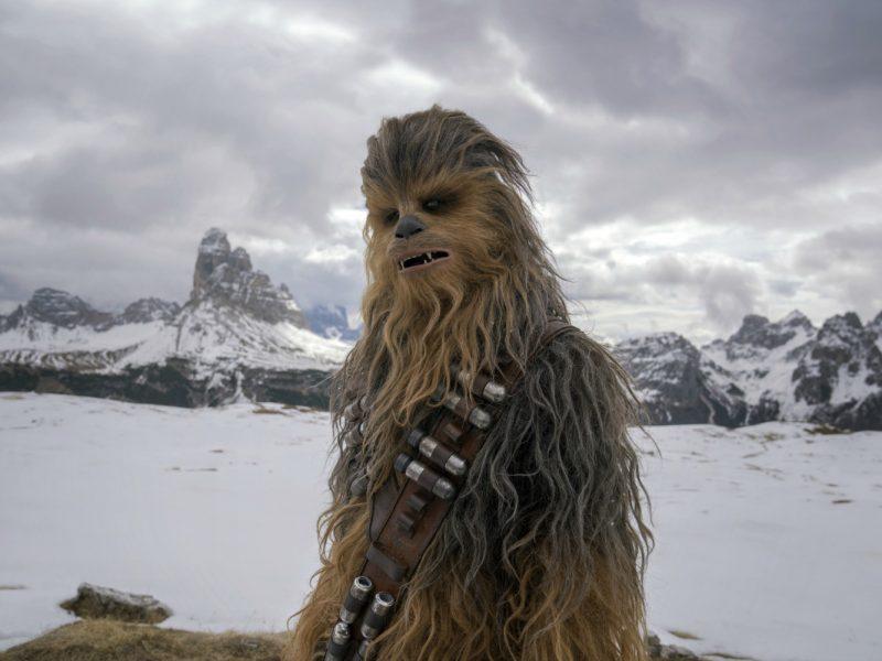 Chewbacca en Solo: Una Historia de Star Wars