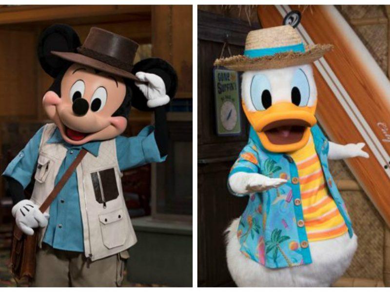 Desayunos con Mickey y Donald en Disneylandia