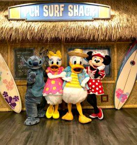 Desayuno con Personajes de Disney en el Hotel Paradise Pier
