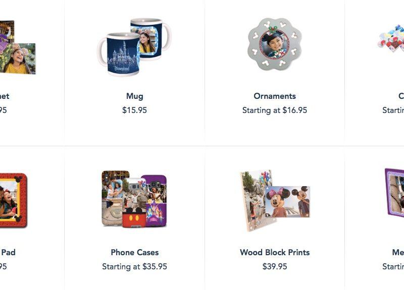 Objetos personalizados para hacer con tus fotos de Photopass de Disneyland