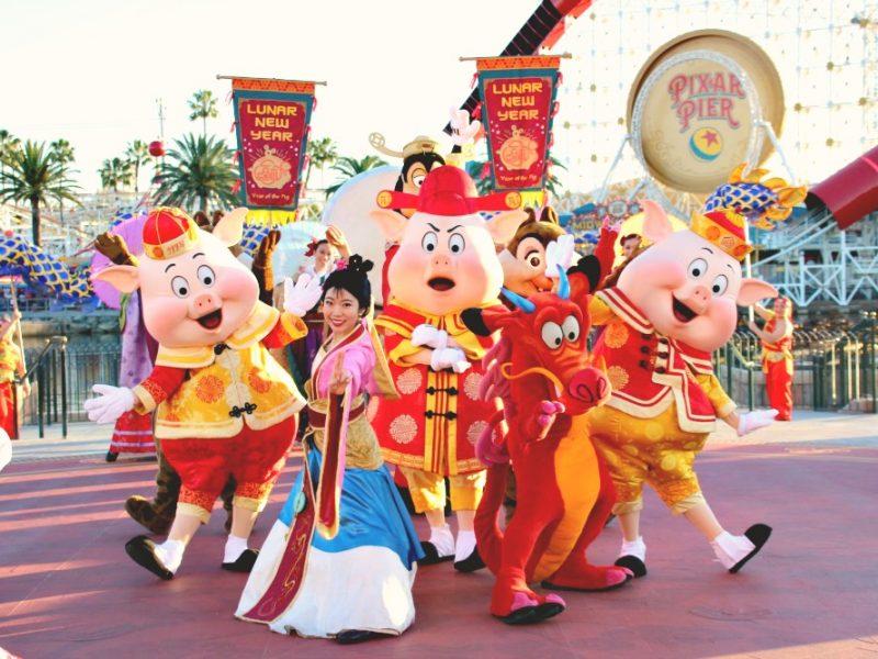 Celebra el Año del Cerdo en Disney California Adventure