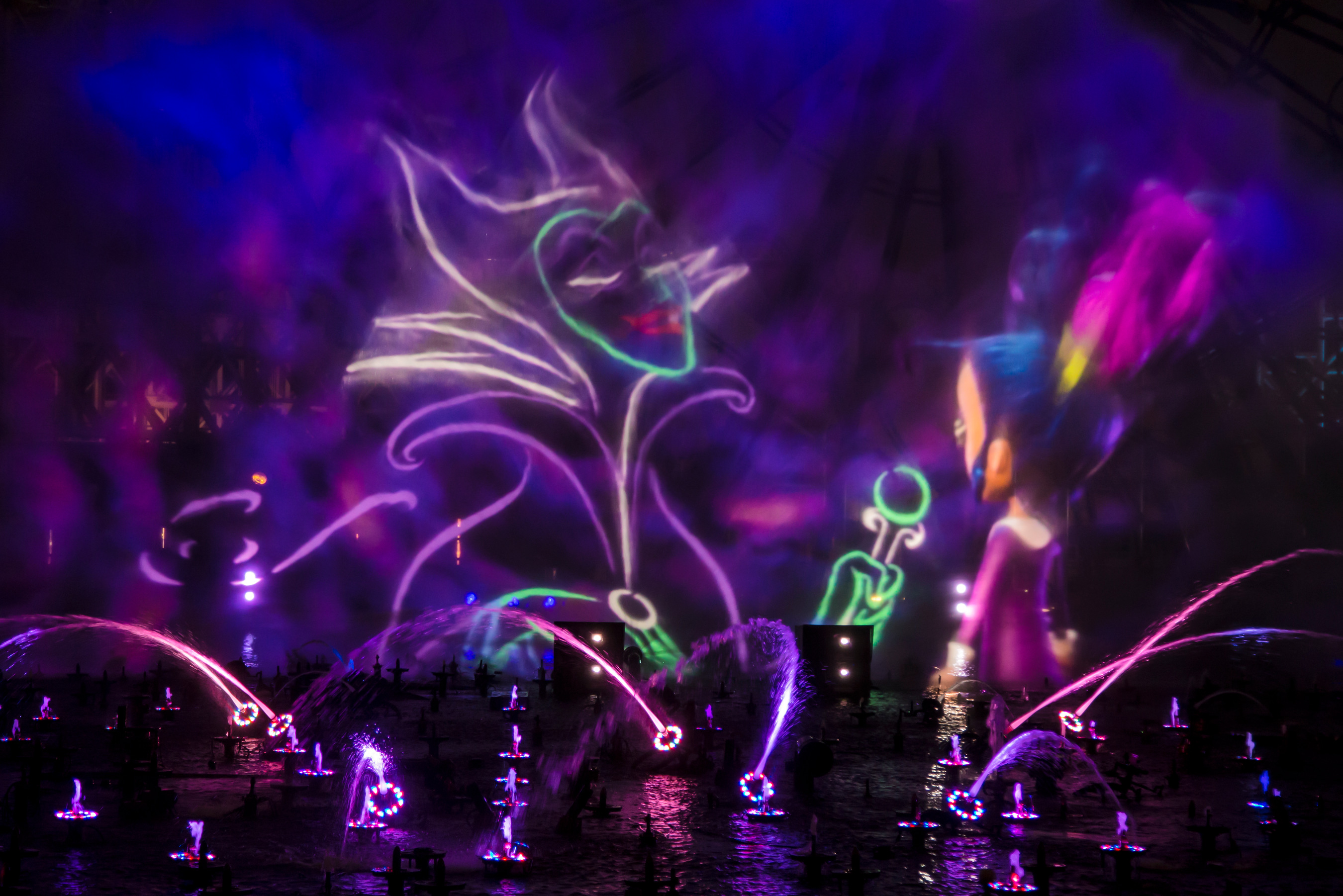 Villainous! show en Disney California Adventure