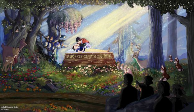 Nuevos cambios viene a Snow White's Scary Adventure en Disneylandia