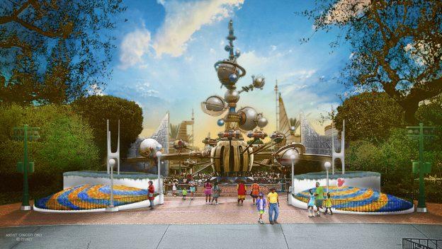 Una nueva apariencia en Tomorrowland