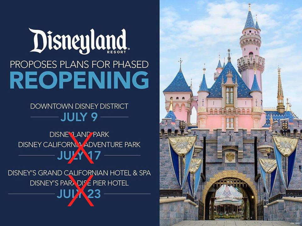 ¿Cuándo reabrirá Disneylandia?