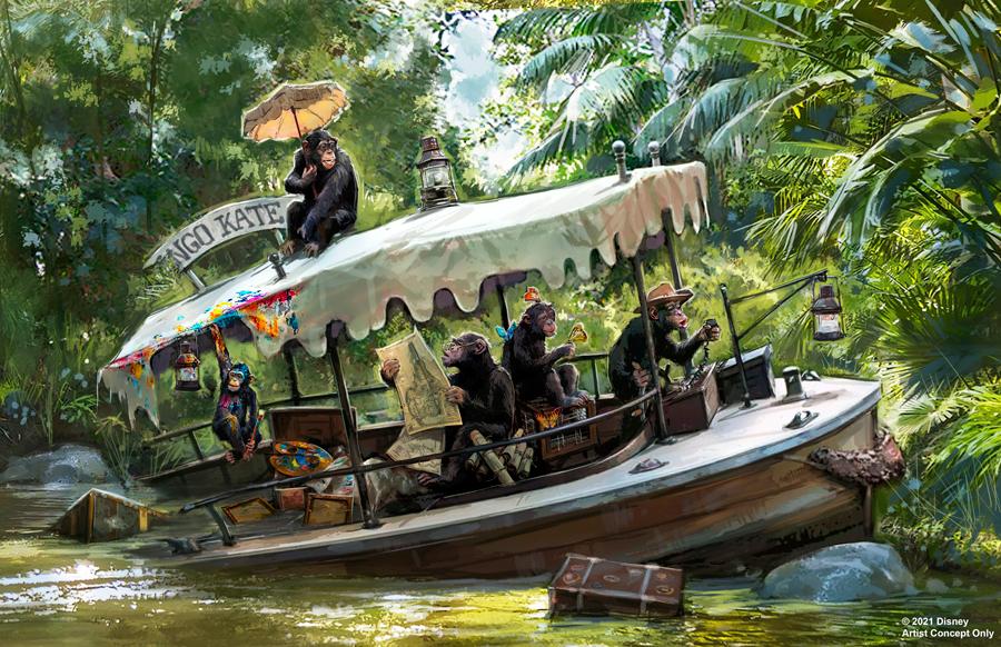 Nuevos Cambios Viene a Jungle Cruise en Disneylandia