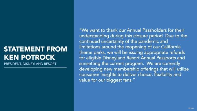 Disneylandia cancela los pases anuales indefinidamente