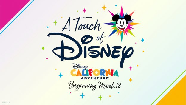 """A Touch of Disney"" en Disney California Adventure Park"