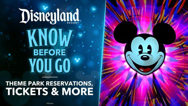Boletos para la Reapertura de Disneylandia