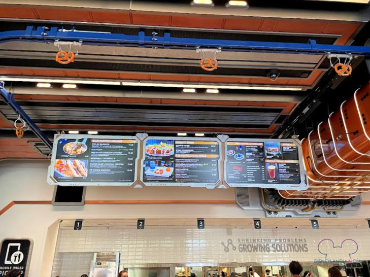 Alimentos en Avengers Campus