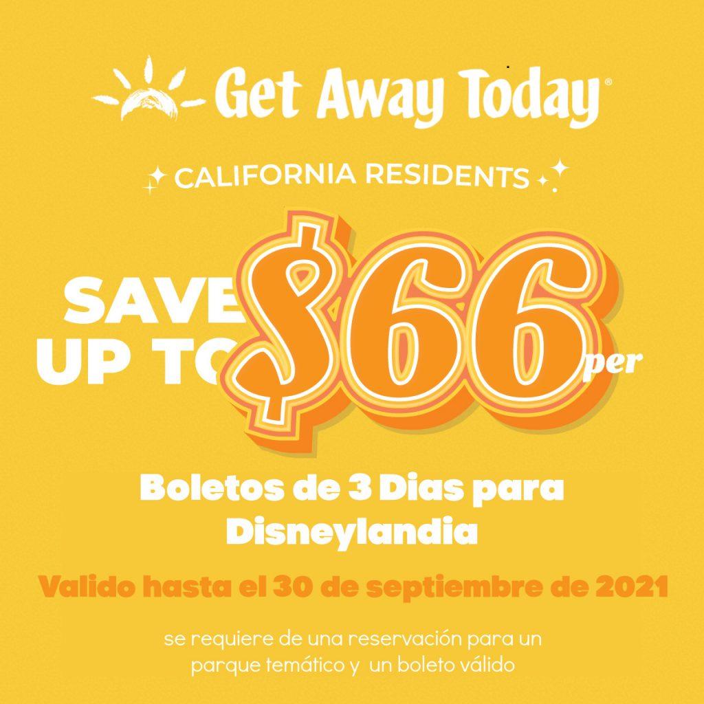 Boletos de Descuento para Disneylandia