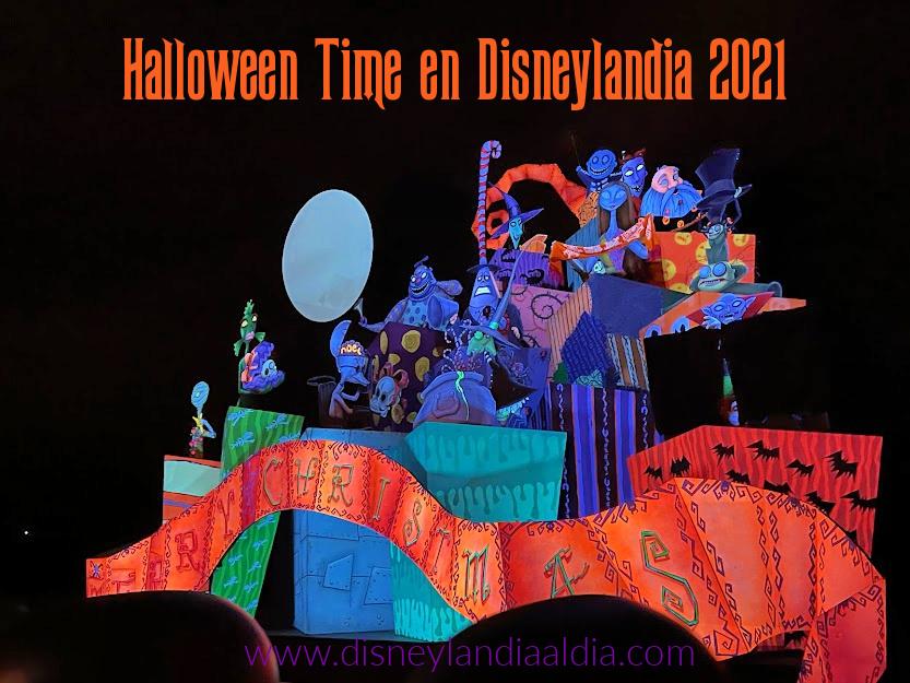 Halloween Time en Disneylandia 2021